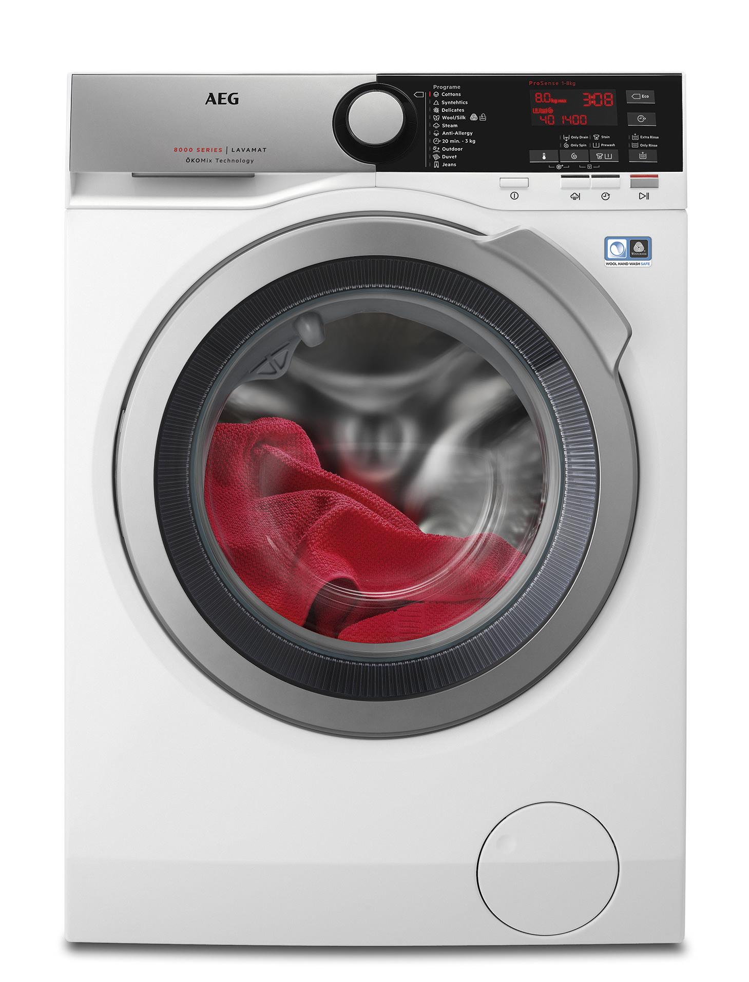 Szabadonálló elöltöltős mosógép